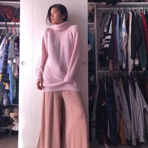 LF Baby Pink Elongated Sweater